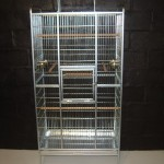 A4 de Lux Cocatiel small Parrot Cage Small mesh
