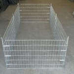 Rectangular small 6 panel pen for pets. Two roof panels can be placed ontop if required and a gate can be inserted in one of the panels if so required