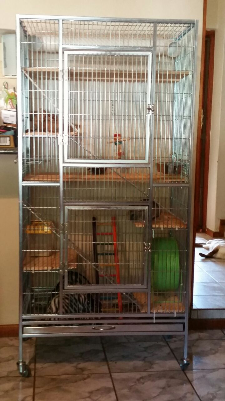 Chinchilla Critter Deluxe Palaces Pet Creations