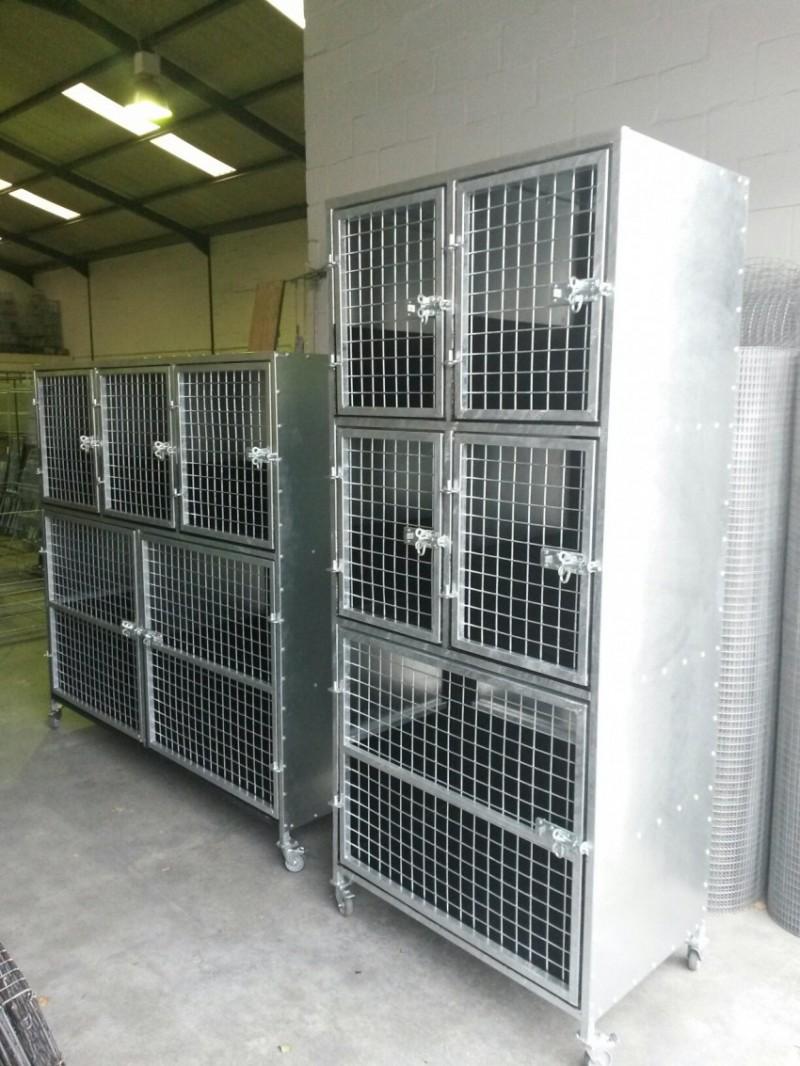 Custom Veterinary Parlour Animal Hospital Cages