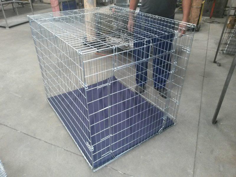 Jumbo Flat Folding Crate Dogs Puppies Cats Pets Pet